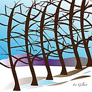 Winterscape by IrisGelbart