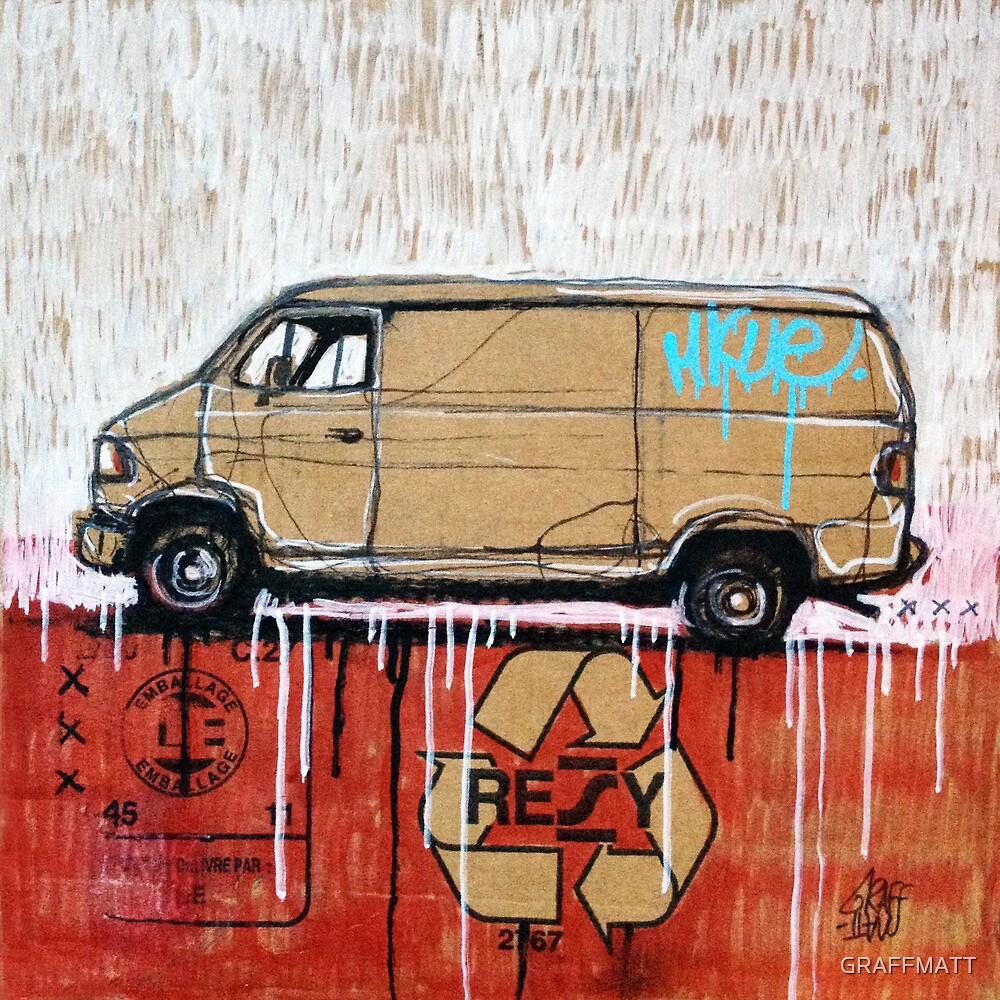 Graffiti Van by GRAFFMATT