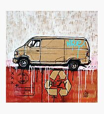 Graffiti Van Photographic Print