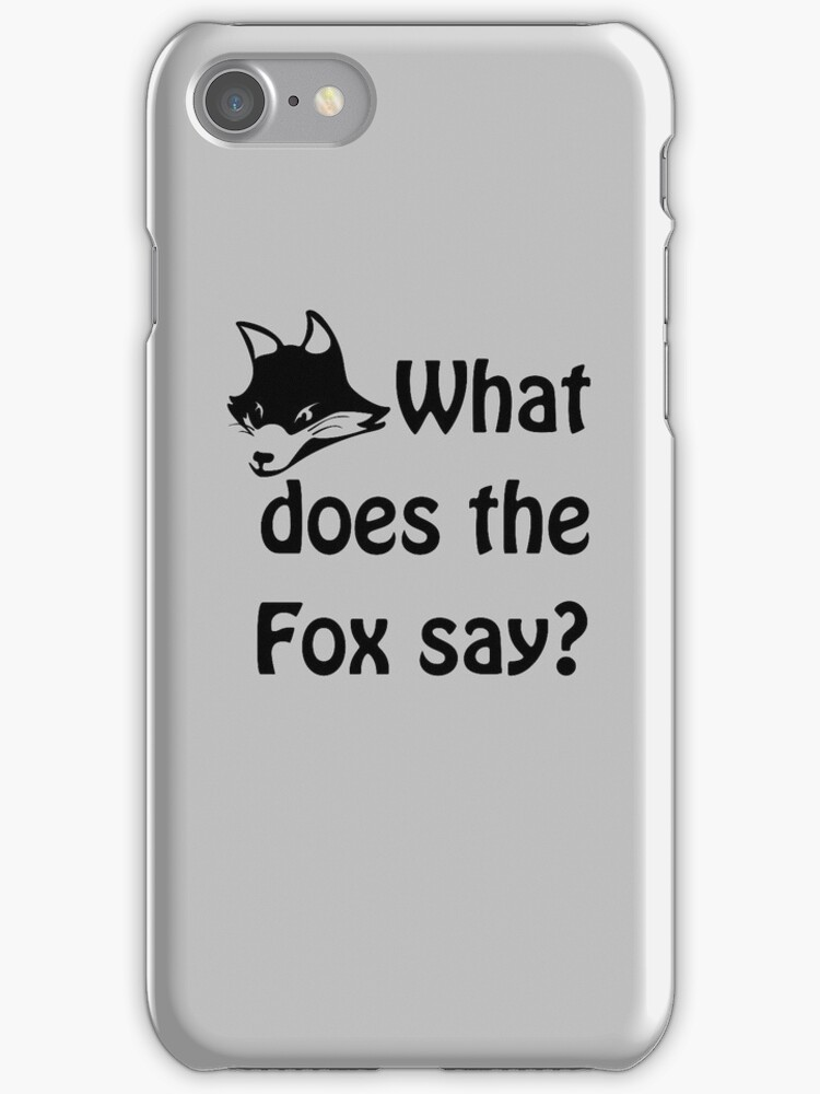 What does the Fox say? by s2ray