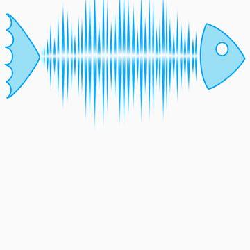 Música Frecuencia de pulso de frecuencia de frecuencia Dance House Techno Wave de boom-art