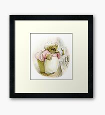 Mrs Tiggywinkle Beatrix Potter  Framed Print