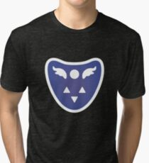 Undertale Delta Rune Toriel's symbole Tri-blend T-Shirt