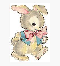 Playful Bunny Photographic Print