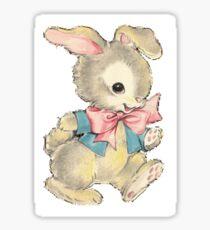 Playful Bunny Sticker