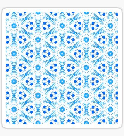 Moroccan Flowers Sticker
