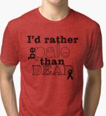 Melanoma Awareness Tri-blend T-Shirt