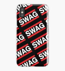 SWAG Pattern - Run Dmc Style iPhone Case/Skin