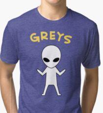 Oikawa Tooru's Alien Shirt Design Tri-blend T-Shirt