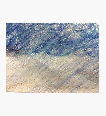 Rain Storm in Oil Pastels Photographic Print