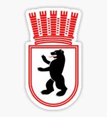 Coat of Arms of East Berlin, 1954-1990 Sticker