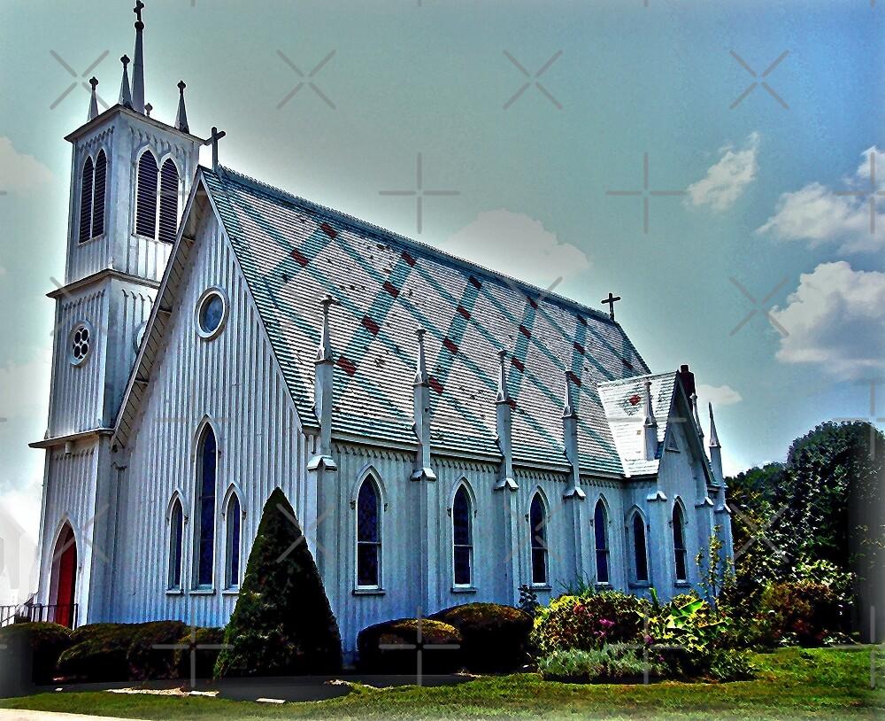 St. Paul's Episcopal Church by FrankieCat