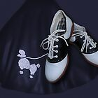SADDLE SHOES AND POODLE SKIRT PICTURE AND OR CARD by ✿✿ Bonita ✿✿ ђєℓℓσ