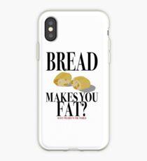 Scott Pilgrim-Bread Makes You Fat? iPhone Case