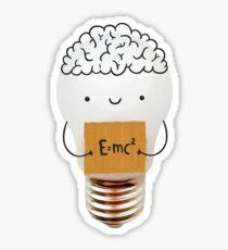 Cute light bulb Sticker