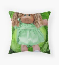 CABBAGE PATCH DOLL THROW PILLOW HOW CUTE Throw Pillow