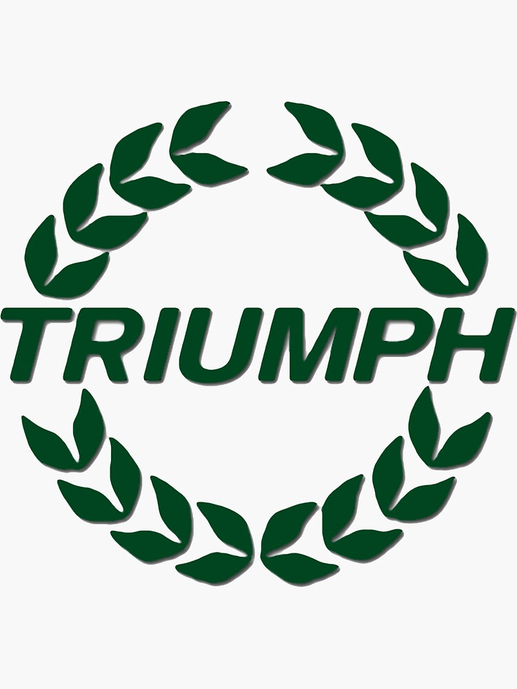 Triumph Wreath by JustBritish