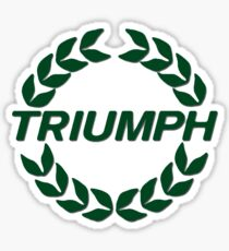Triumph Wreath Sticker