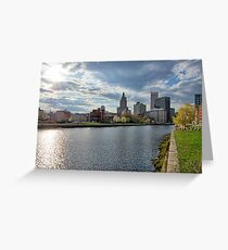 Downtown Providence, RI Greeting Card