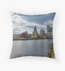 Downtown Providence, RI Throw Pillow