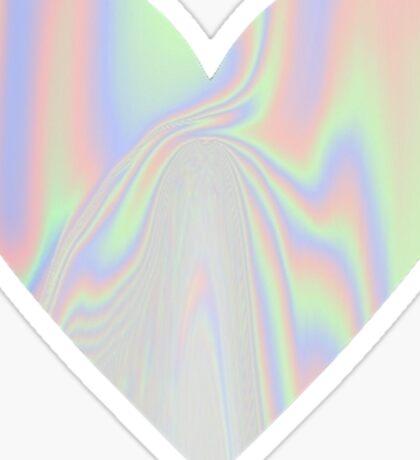 Pastel Heart Sticker