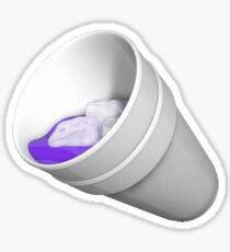 sippin' on lean Sticker
