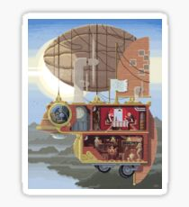 Scene #28: 'The Art Thieves' Sticker