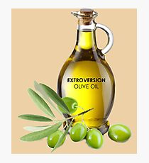 Extroversion Olive Oil Photographic Print