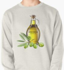Extroversion Olive Oil Pullover