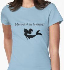 Mermaid in Training Women's Fitted T-Shirt