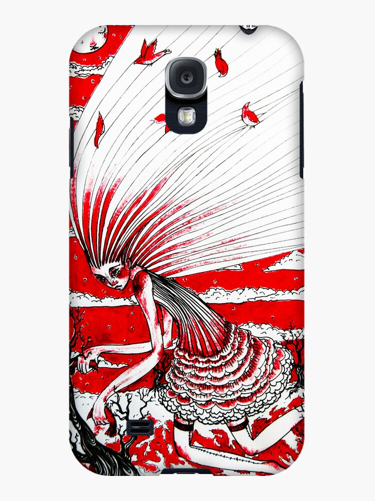 the bird gatherer (red ink) by engraven