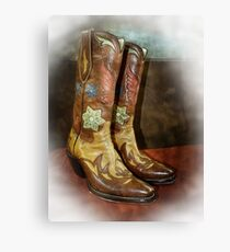 Take A Walk in My Boots Canvas Print