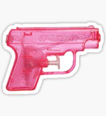 Water Gun Sticker