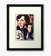 Sherlock - The Game Framed Print
