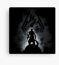 The Dovahkiin Canvas Print