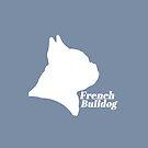 French Bulldog pride! (in white) by stellarmule