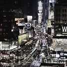 Times Square - NYC by Sam Parsons