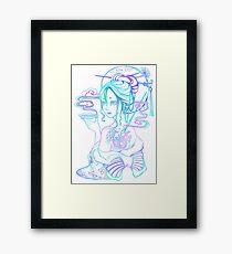 Enchanted Ink Framed Print