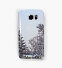 Winter Morning Snow Scene Samsung Galaxy Case/Skin