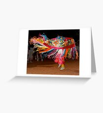 Navajo Dancer Greeting Card