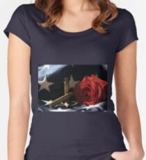 A Patriots Passing Women's Fitted Scoop T-Shirt