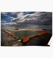 Tidal Pool Werri Beach Poster