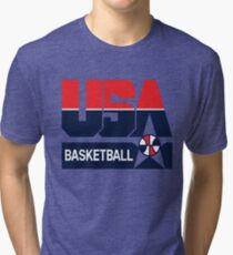 USA Basketball 1992 Dream Team Tri-blend T-Shirt