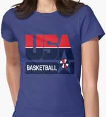 USA Basketball 1992 Dream Team Womens Fitted T-Shirt