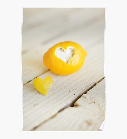 Lemon Love Poster