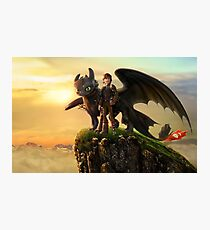 How To Train Your Dragon 10 Photographic Print