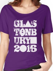 Glastonbury 2016 Women's Relaxed Fit T-Shirt