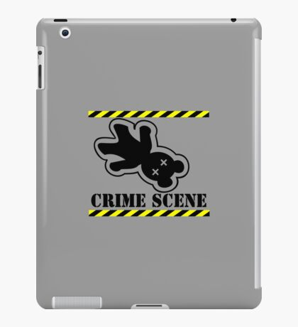 Crushed Teddy - who stepped on Teddy VRS2 iPad Case/Skin