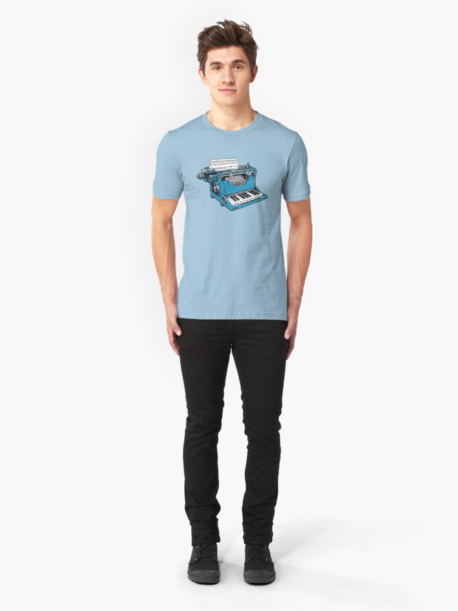 Alternate view of The Composition - O. Slim Fit T-Shirt