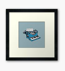 The Composition - O. Framed Print